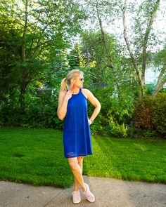Two Ways to Style a Sporty Dress - Doused in Pink | Chicago Style Blog