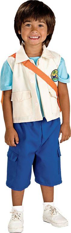 Boys Nick Jr. Go Diego Costume - Party City