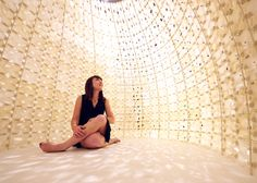 Pavilion made of 3D-printed salt by Emerging Objects | design | Dezeen #milan #WorldsFair #Expo2015