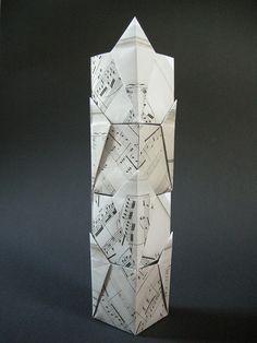 Caixas de presente por Doris Lauinger - Diagrama por Robin Scholz . Para obter…
