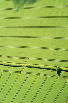 aerial view of Devonshire, England