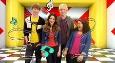 Musical couple:Austin & Ally w friends