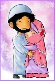 These anime hijabbi Muslim pictures are soo cute.