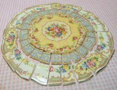China Mosaic Tiles SHaBBY CHIC ARRaNGeMENT by katiedesigns4u, $27.95