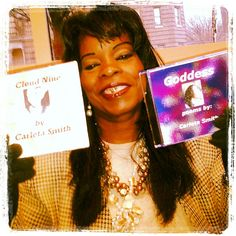 "Ms. Doris has to be one of my biggest supporters as she enjoys her ""Goddess"" & ""Cloud Nine"" cd by Carleta Smith :)"