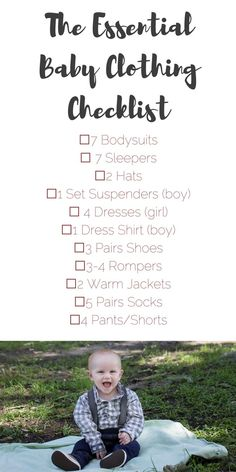 The Essential Baby Clothing Checklist these are what you actually need for a n baby The Essential Baby Clothing Checklist these are what you actually need for a n baby Baby Clothes nbsp hellip Single Parenting, Kids And Parenting, Parenting Hacks, New Parents, New Moms, Newborn Clothes Checklist, Baby Checklist, Toddler Fashion, Kids Fashion