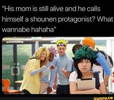 Picture memes 4 comments — iFunny - Boku no Hero Academia - Anime Boko No Hero Academia, My Hero Academia Memes, Hero Academia Characters, My Hero Academia Manga, K On Anime, Anime Stuff, Free Anime, Videos Anime, Animes On
