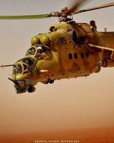 Mi-24V in Syria