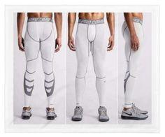 NIKE PRO COMBAT HYPERCOOL MEN'S COMPRESSION TIGHTS PANTS SIZE XL $55 NEW  #NIKE #BaseLayers