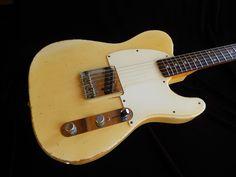 Fender Esquire 1960 Blonde   Reverb