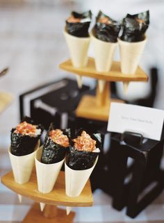 Spicy Tuna Hand Rolls | SMP Living