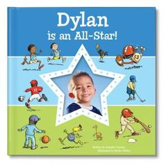 I'm an All-Star Personalized Book - Blue