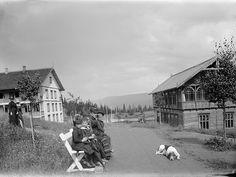 Tonsåsen Sanatorium, Valdres, Norway by Swedish National Heritage Board, via Flickr #sanatarium #sanatorium #hospital #buildings #architecture #medicine