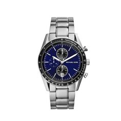 Cheap MK Outlet Online & MICHAEL KORS Accelerator Silver-Tone Watch