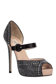 Valentino sparkly heels