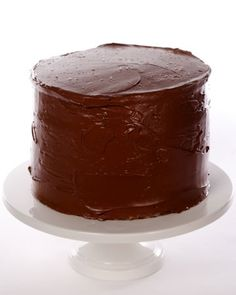 The combination of yellow butter cake and rich chocolate frosting is classic for a reason and a favorite for many.
