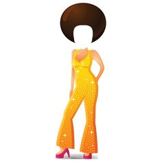 You'll love the Stand-Ins Cartoon Disco Dancer Life Size Cardboard Standup at Wayfair - Great Deals on all Décor  products with Free Shipping on most stuff, even the big stuff.
