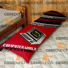 An6-kraftwerk Computer World Body Pillow Case