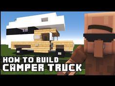 Minecraft Vehicle Tutorial – How to Build : Camper Truck | Minecraft Tech
