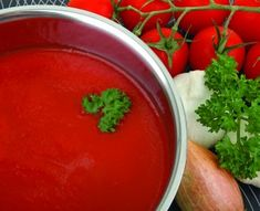 Basic Pizza Sauce #sauce #pizza #recipe More
