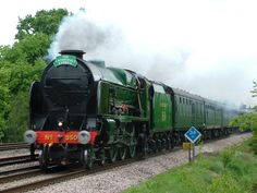 THE SIDING || 850 'Lord Nelson' at Southwood 9-May-2007