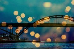 Awesome photo of the Hoan Bridge!