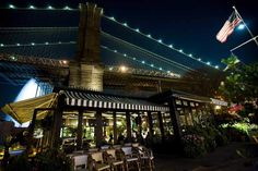 The River Cafe - Bars with a view NYC, Dumbo.