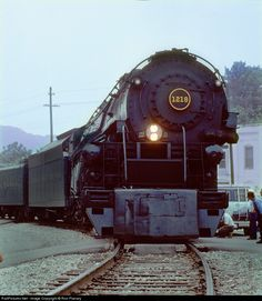 NW 1218 Norfolk & Western Steam 2-6-6-4 at Bull's Gap, Tennessee by Ron Flanary