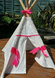 Here we have a fabulous little teepee, just right for Barbie to camp out or teddy to have a teddy bears picnic. Handmade and complete with poles Size approx square x high Bespoke, Trending Outfits, My Etsy Shop, Unique Jewelry, Handmade Gifts, Pets, Check, Beautiful, Taylormade