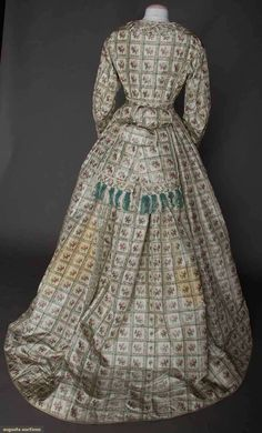 Maternity Dress, C. 1865, Augusta Auctions, April 9, 2014 - NYC, Lot 160