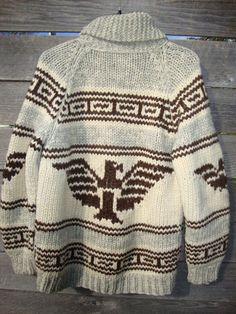 Vintage 50's 60's THUNDERBIRD heavy Knit wool by Simplemiles, $140.00