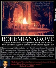 Why doesn't the corporate media cover Bohemian Grove with so many important world influences attending?