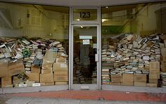 This bookshop existed in Brighton for years, on the main route from the station down to the sea.