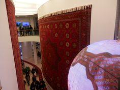 (foto di Purple) EXPO 2015, Milano, Italy. interno del padiglione del Turkmenistan