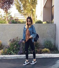 What jeans to wear with vans best outfits Que jeans usar com vans melhores roupas Tumblr Fall Outfits, Hipster Outfits, Casual Fall Outfits, Fall Winter Outfits, Jean Outfits, Boho Outfits, Outfits For Teens, Summer Outfits, Fashion Outfits