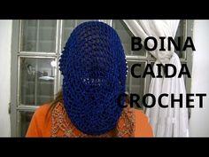Boina caída en tejido crochet tutorial paso al paso. - YouTube