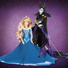 DISNEY HEROES & VILLAINS PART 2: 2016 LIMITED EDITION 6000. Sleeping Beauty & Maleficent – Available in-store October 18 and online October 19; $129.95 US / $159.95 CAN