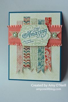 In addition to the three stamp sets that all convention attendees received, the convention display stampers were also given one of the product suites with which to make several other projects. We ...
