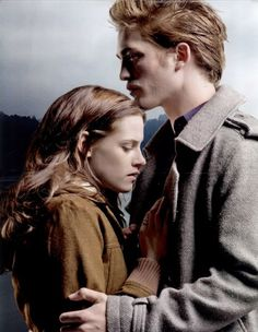 Edward & Bella-such an amazing story! First set of books I couldn't put down!