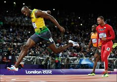 With Bolt in good form, the Olympic 100m dash was a race for silver. Google Image Result for http://media.bakersfieldnow.com/images/120805_Usain_Bolt_2.jpg