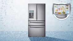 Samsung 890L Sparkling French Door Fridge