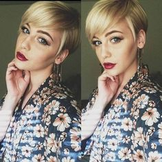 Modern Pixie Hairstyle