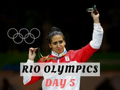 Highlights from the fifth day of competition at the Rio Games.