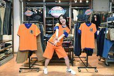 Kamehameha~ Dragon Ball Style @ Jeans Mate Shibuya  #japankuru#japan#cooljapan#tokyo#100tokyo#jeansmate#shibuya#dragonball#shopping#fashion