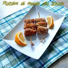 ROTOLINI DI MAIALE ALLO STECCO #ricettadelgiorno #food #loscrignodelbuongusto #passionecucina #maiale #secondopiatto #rotolini #foodblogger