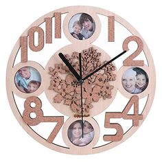 Giftgarden Wooden Wall Clock with 2x2 Picture Frame Frien... https://www.amazon.com/dp/B01NCPV7JL/ref=cm_sw_r_pi_dp_x_2Y1BybKRBAGFC