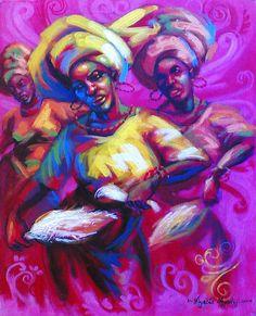 Ayodeji Ayeola - Artist From Nigeria.