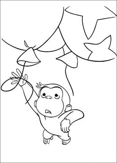 Disegni da Colorare Curioso come George 56