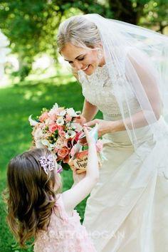 Modern Elegant Cedarwood Wedding with Vintage Charm flowergirl