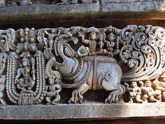 Makara-The mythical animal (Halebeedu, India Krishna Statue, Krishna Art, Temple Drawing, Indian Temple Architecture, Dramatic Smokey Eye, Apocalypse Art, Mandala Artwork, Thai Art, Indian Art